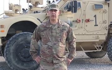 Warrant Officer 1 John Howe from Chicago, IL