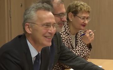 NATO Secretary General Meeting with the New EU High Representative Josep Borrell - Bilateral Meeting