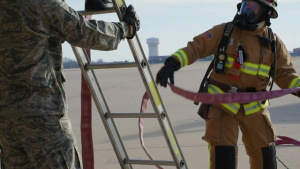 Aircraft crash victim extraction simulation