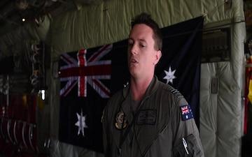 Operation Christmas Drop 2019: RAAF Flight Lt. Andrew Clarke Interview