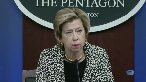 Defense Official Updates Reporters on DOD Acquisition