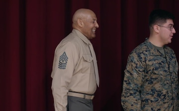 Medal of Honor Recipient visits Camp Foster