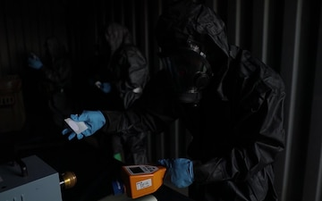 2nd MAW CBRN Marines participate in radiological training course Day #2