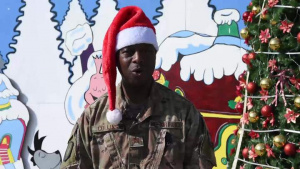 Maj Kenya Collins Holiday Greeting 2019