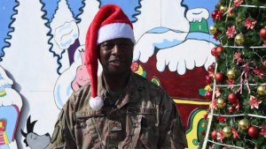 Major Kenya Collins Holiday Greeting 2019