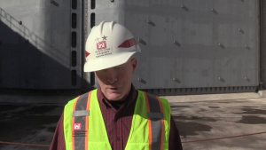Fort Campbell engineers receive Nashville District overview and tour Kentucky Lock Addition Project
