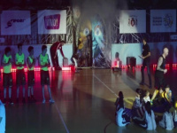 MKAB service members compete in a charity basketball game in Constanta