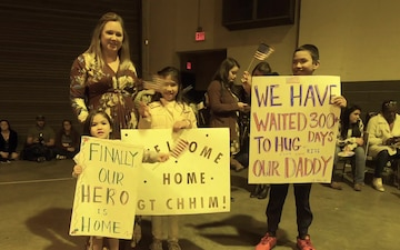 South Carolina National Guard welcomes home engineer Soldiers from deployment