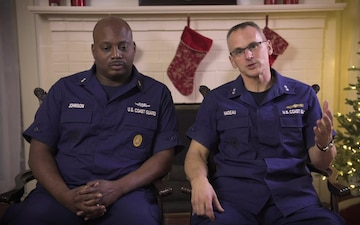 Eighth Coast Guard District holiday greeting