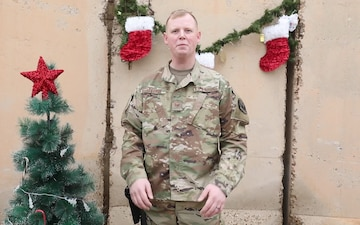 Tech. Sgt. Michael George Holiday Shout Out
