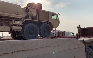 Soldiers of Task Force Warhawk's 638th ASB Keep Equipment Moving Safely