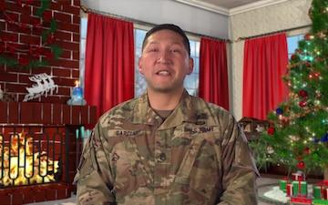 Staff Sgt. Alexanders Garcia Mansfield, TX Holiday Greeting