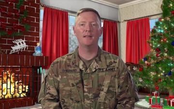 Maj. Paul Shepard Denver, CO Holiday Greeting