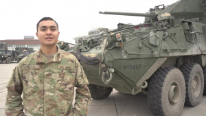 Holiday season hometown shout out: Pvt. Dawson Iechad