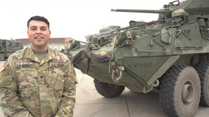 Holiday season hometown shout out: Spc. Martinez Ramos