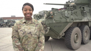 Holiday season hometown shout out: 2nd Lt. Jasmine Windley