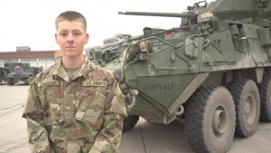 Holiday season hometown shout out: Pvt. William Samskar