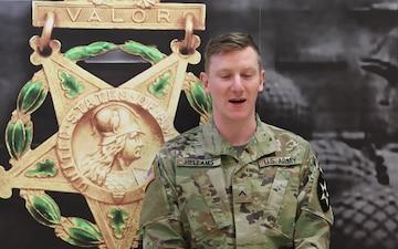 Pvt. Brandon Hellams- Holiday Greeting