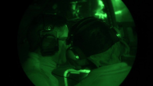 801st SOAMXS performs night operations