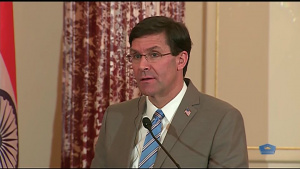 U.S., Indian Officials Hold News Conference at State Department