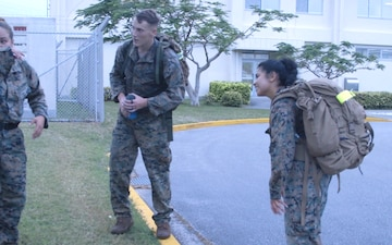 *B-Roll* Marines participate in screening event for psychological operations
