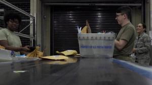 RAF Mildenhall Post Office Stringer