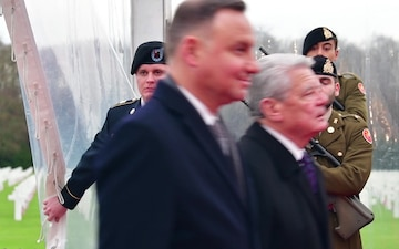 75th anniversary commemoration ceremony of the Battle of the Bulge