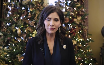 South Dakota Governor Kristi Noem's Holiday Message to the South Dakota National Guard