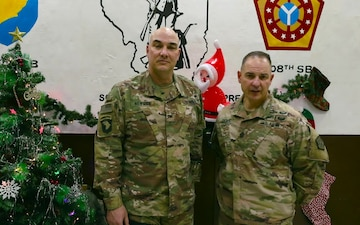 108th Command Holiday Greeting from Iraq