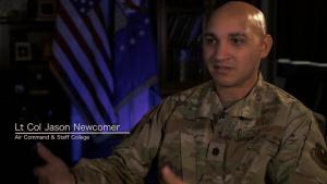 CCAF Informational Video-Lt Col Newcomer