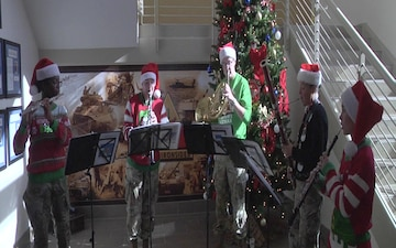 1st Armored Division Band plays We Wish You a Merry Christmas