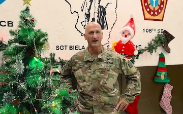 108th Soldiers Holiday Shoutouts