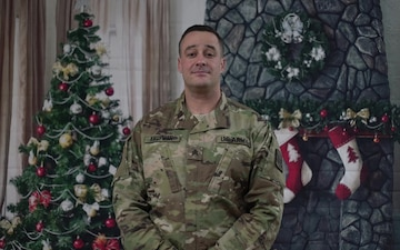 Sgt. Cody Kaufman Holiday shoutout