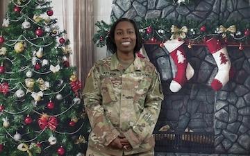Maj. Demietrice Pittman Holiday shoutout