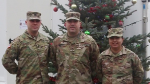 418th Civil Affairs Battalion sends Christmas cheer back home