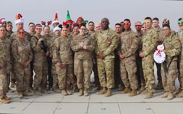 1st Armored Division Sustainment Brigade holiday shout out 2019