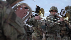 Leaders Bring Holiday Cheer to Soldiers Deployed to Syria