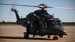 Air Force names newest helicopter 'Grey Wolf'