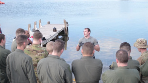 Dobbins aircrew train for combat survival in Key West (Part 1)