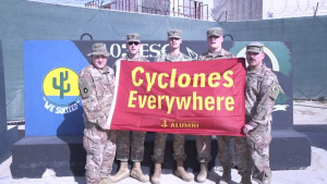 Iowa State University Cyclone New Year Shout out