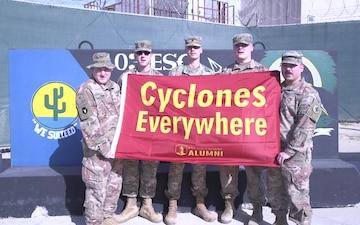 Iowa State University Cyclone New Year Shout out