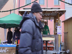 7th ATC Holiday Message at the Grafenwoehr Christmas Market