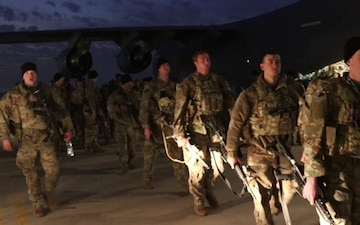 82nd Airborne Division arrives in CENTCOM