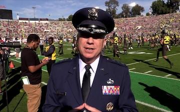 U.S. Space Force Represents at Rose Bowl 2020