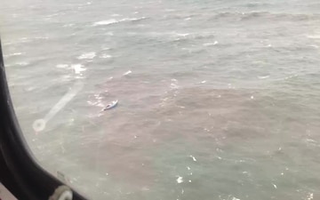 Coast Guard rescues man from disabled sailing vessel near Long Beach, Wash.