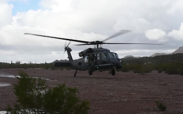 HH-60 assigned to the 55th Rescue Squadron