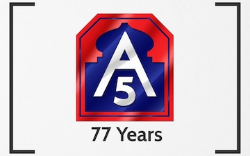 Fifth Army - Celebrating 77 Years
