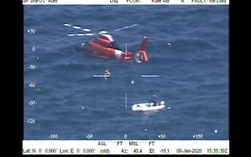 Coast Guard rescues overdue boater 9 miles southeast of Fort Pierce