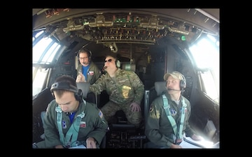 181st Operations Group Flies C-130 Hercules Above North Texas