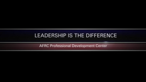 AFRC PDC Leadership Resilience